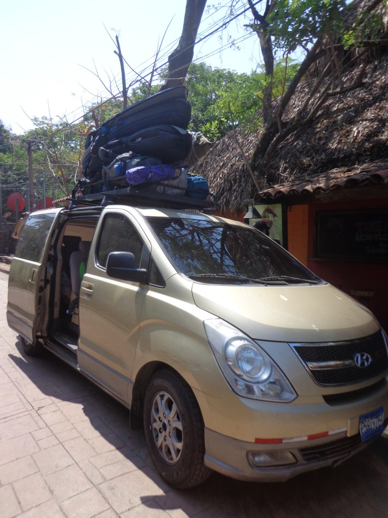 planche de surf mini bus Salvador