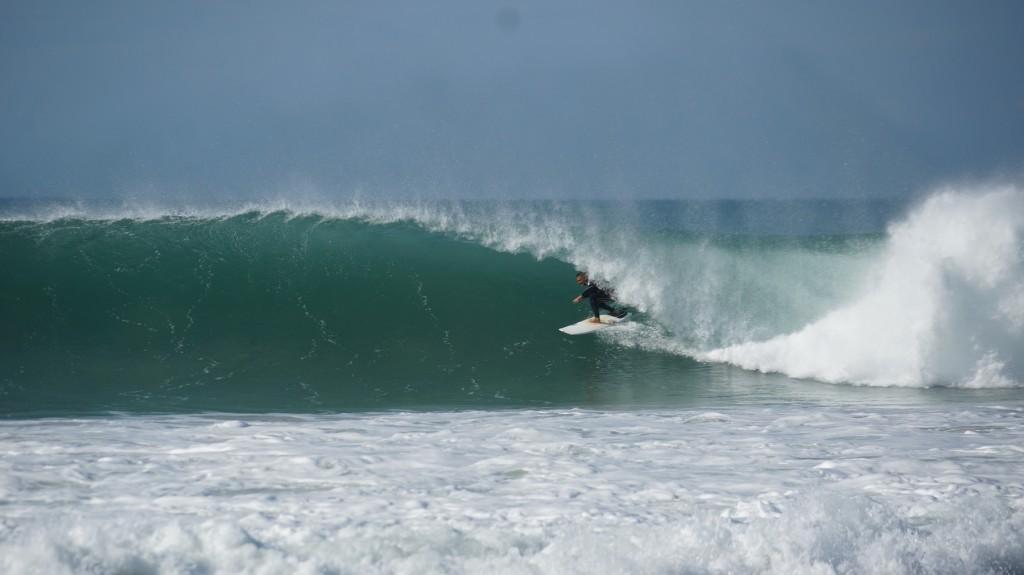 Trip surf famille barrel