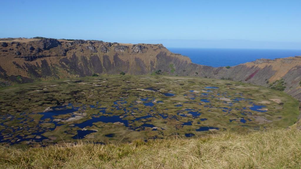 isla de pascua volcan