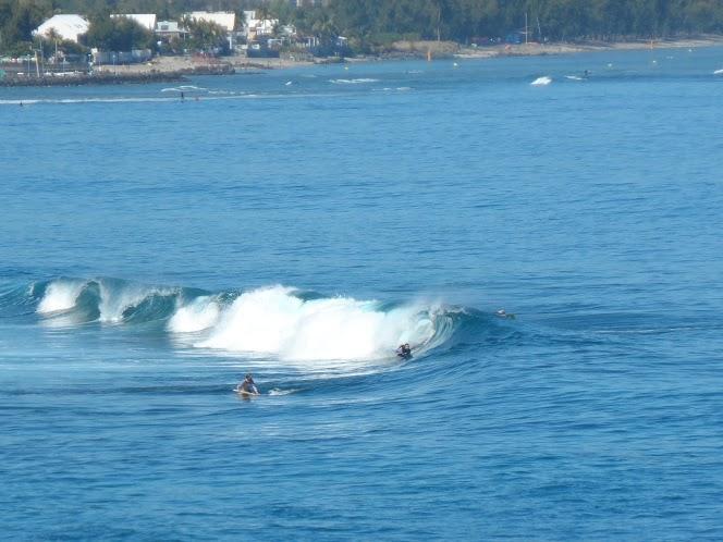 reunion bodyboarder surf