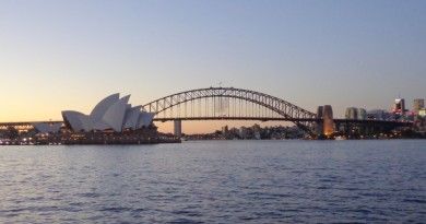 Australie surf trip new south wale Sydney opera bridge