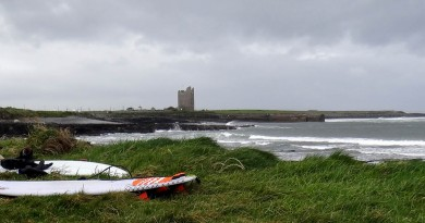 Irlande Easky right surf trip castel