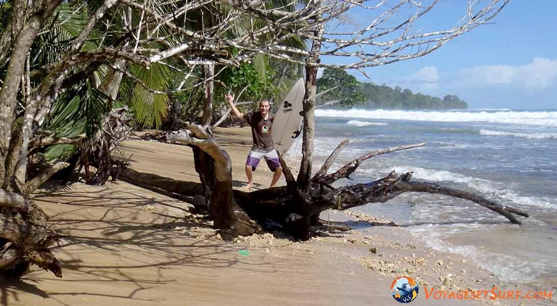 Panama surf trip Bocas del Toro paunch