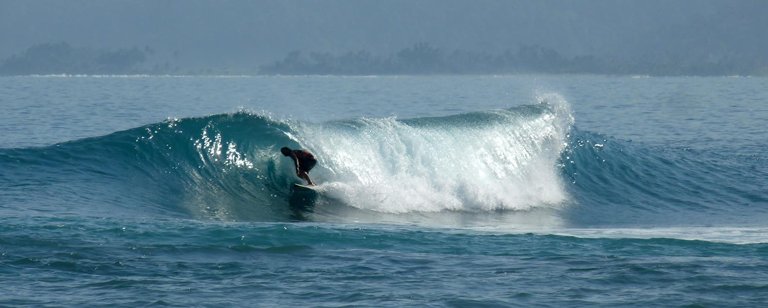 BARREL SURF THE PEAK