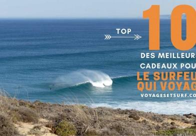 Top 10 des meilleurs cadeaux pour un surfeur qui voyage