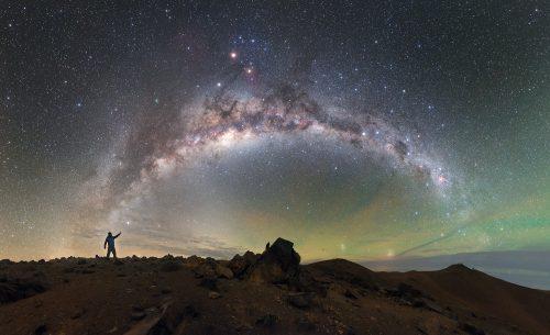 Chili Vallée d'Elqui voie lactée