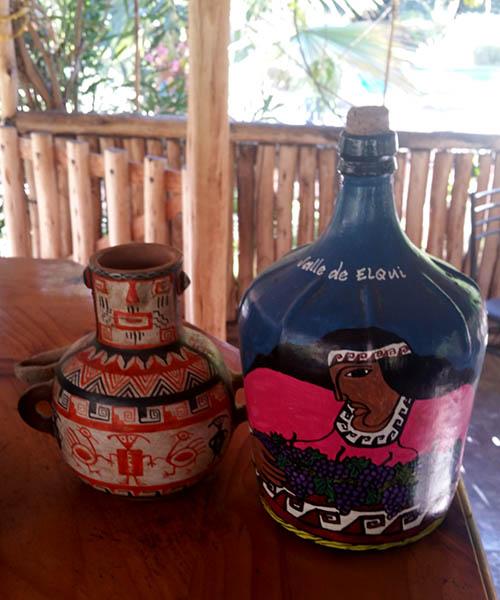 Chili Vallée d'Elqui poterie
