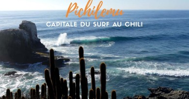 Pichilemu capitale du surf Chili
