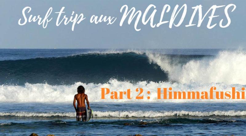 Surf trip sur l'île de Himmafushi aux Maldives