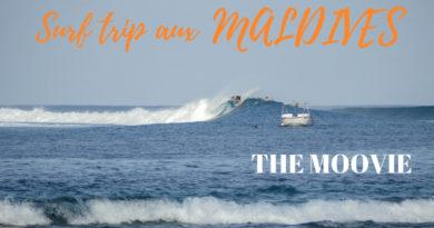 maldives surf vidéo