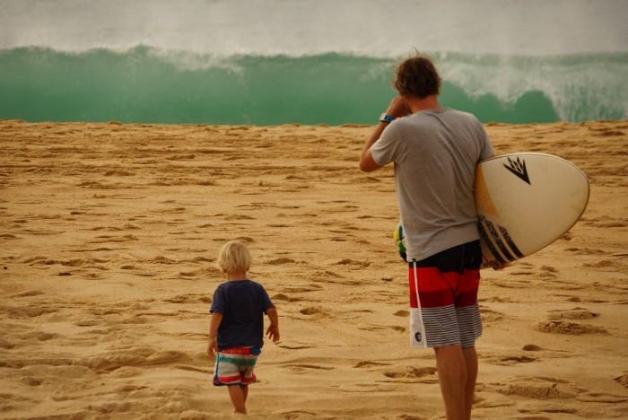 Plage Trip surf famille