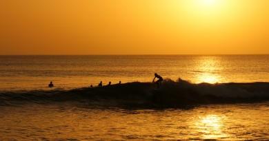 Sénégal vivier sunset Surf almadies