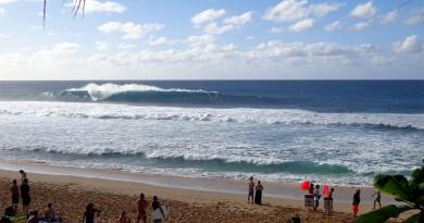 surf trip Hawaï off the wall