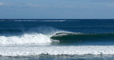 Mundaka pays basque église port village vague surf