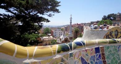 Barcelone parc güell