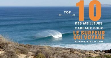 Top 10 cadeaux surf