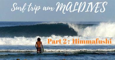 Maldives surf Himmafushi