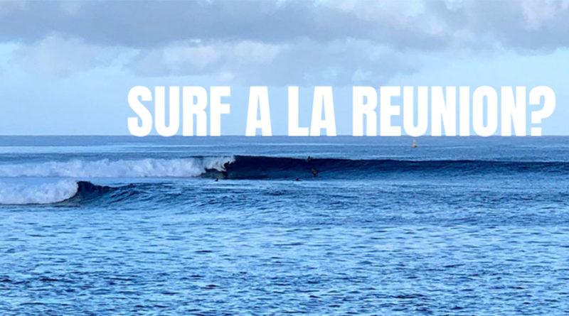 Surf sur l'île de La Réunion